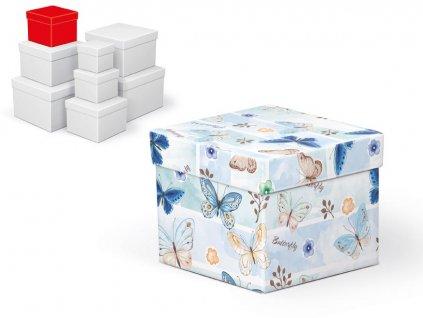 krabice dárková C-C001-C 12x12x10cm 5370657