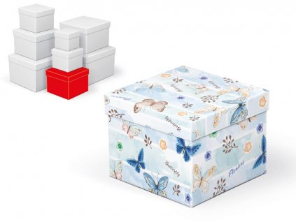 krabice dárková C-C001-D 14x14x11cm 5370658