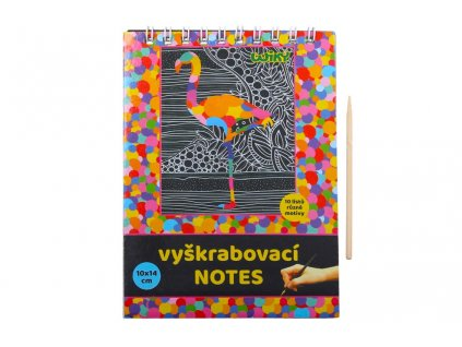 Škrabací obrázek W011369 blok 10x14cm / 10 listů