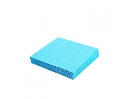 Ubrousky 33x33 cm světle modrý - 20 ks - třívrstvé PARTY