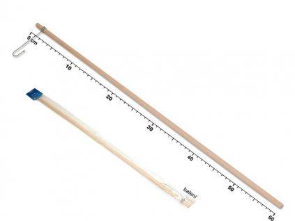 držák na lampión 60cm dřevěný 1020084