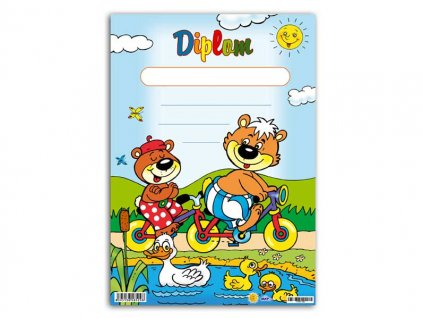 dětský diplom A5 DIP05-002 5300447