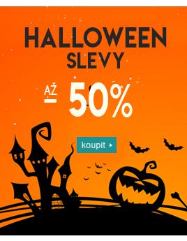 Strašidelné kostýmy a masky Halloween