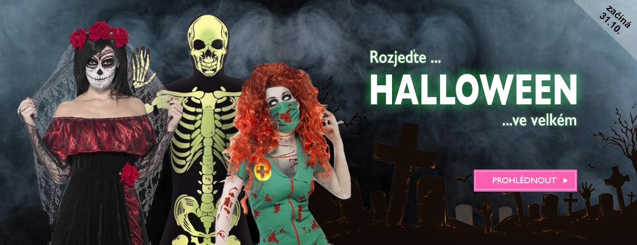 Halloween kostýmy masky