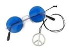 Hippies doplňky z 60. let - lenonky, náhrdelníky, čelenky