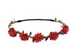 Květinové čelenky, věnce a věnečky do vlasů