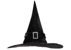 Čarodějnické klobouky, masky a doplňky
