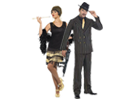 Kostýmy na párty 20.-30. léta, charleston a mafiáni