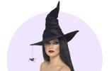 Karnevalové kostýmy a masky čarodějnice pro děti a dospělé