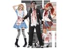 Halloweenské kostýmy pro děti a dospělé