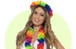 Havajské věnce a jiné doplňky na Havaj párty