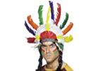 Karnevalové kostýmy a doplňky pro indiány