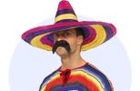 Mexická ponča, sombrera a doplňky na Mexickou párty