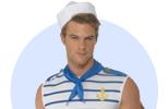 Kostýmy a doplňky pro námořníky