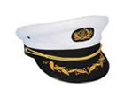 Námořnické a kapitánské čepice