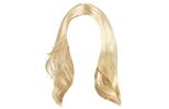Bílé a blond paruky na karneval