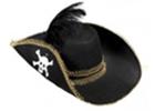 Pirátské klobouky a tříroháky - pro piráty i pirátky