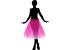 Dámské tutu sukně, tylové, látkové