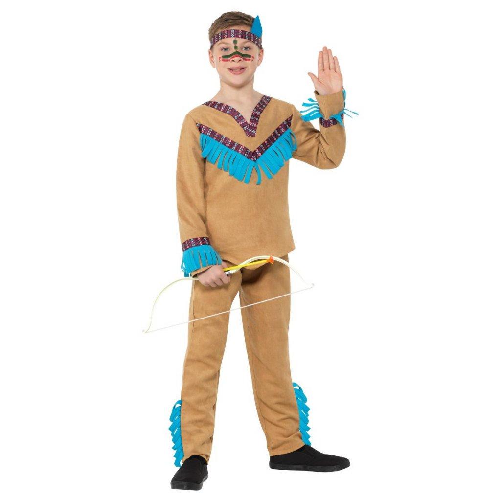 chlapecký kostým indiána