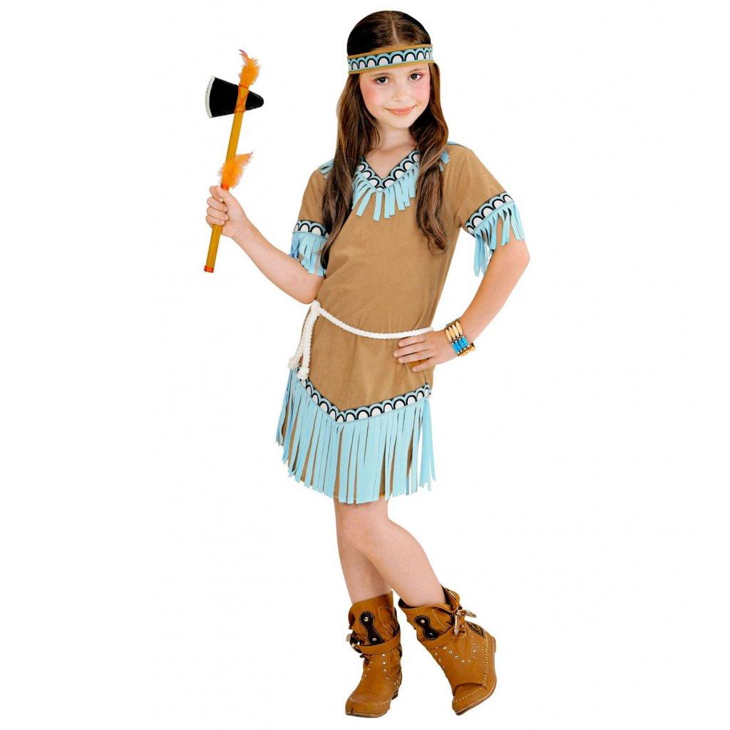 Dívčí kostým indiánky Pocahontas