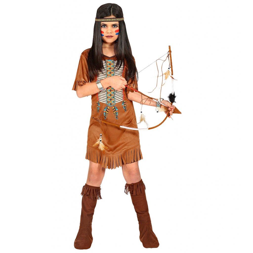 dětský Kostým indiánky Sacajawea