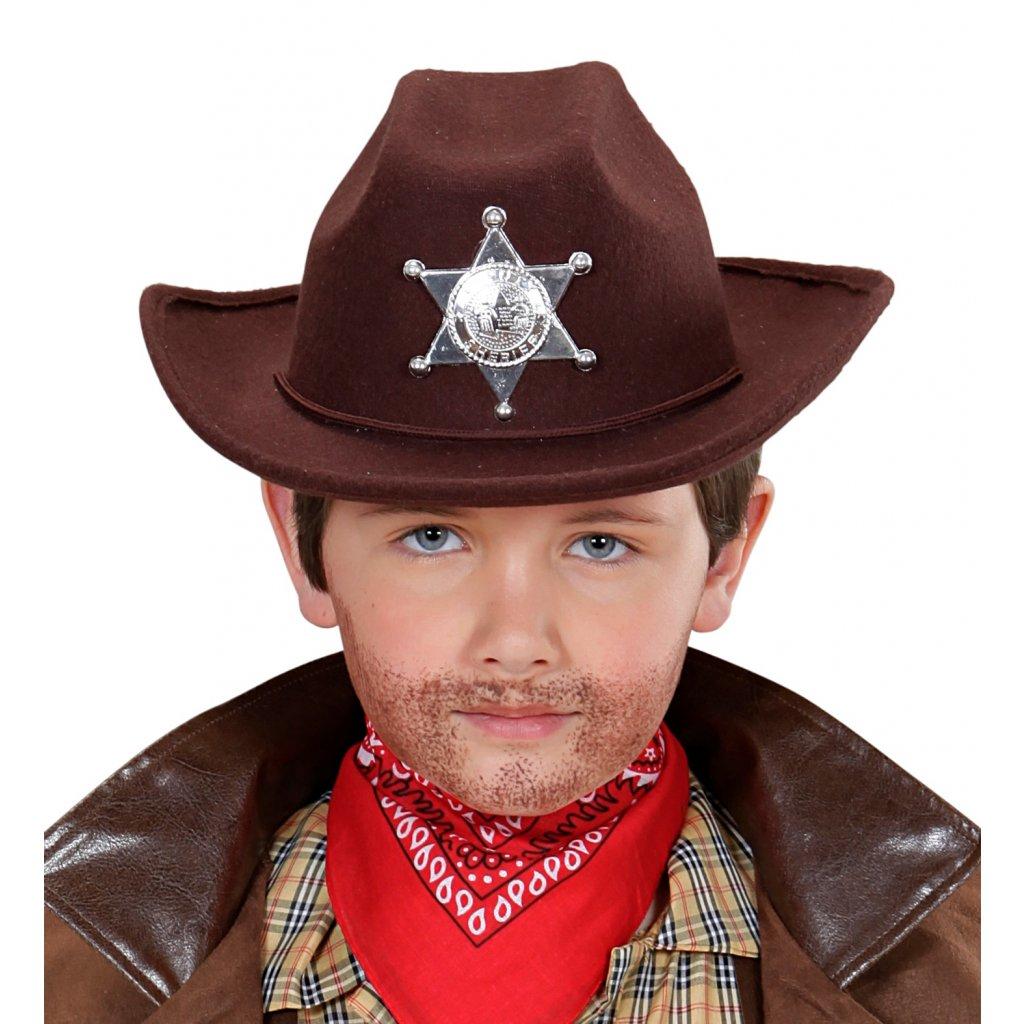 dětský klobouk pro šerifa