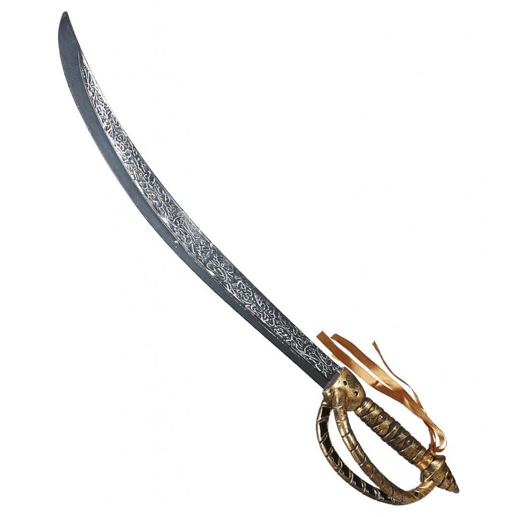 dlouhý pirátský meč