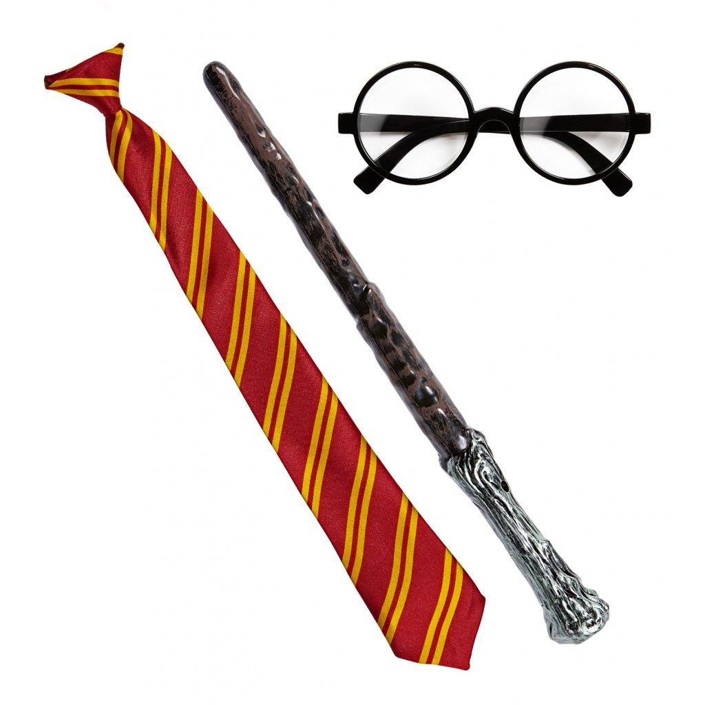 sada harry potter hůlka a brýle