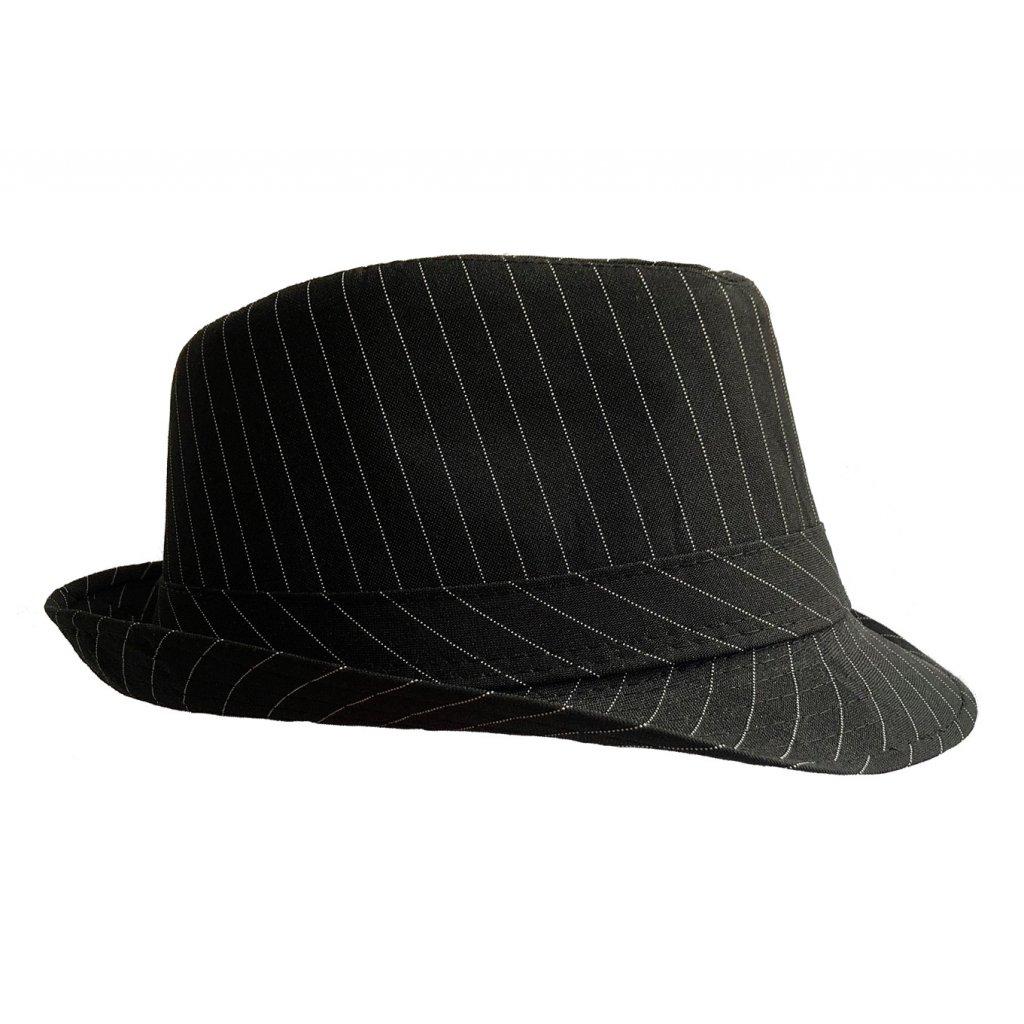 Mafiánský klobouk pruhovaný