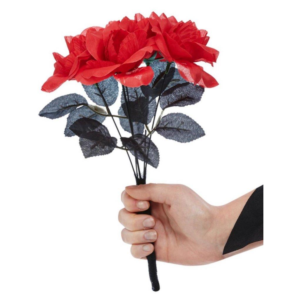 Rudé umělé růže