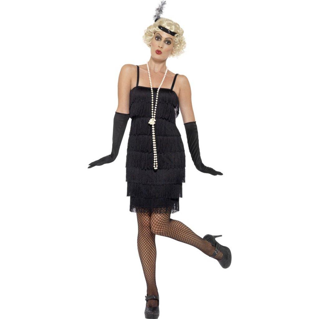 5f45636edf7f Charleston šaty s třásněmi 30. léta