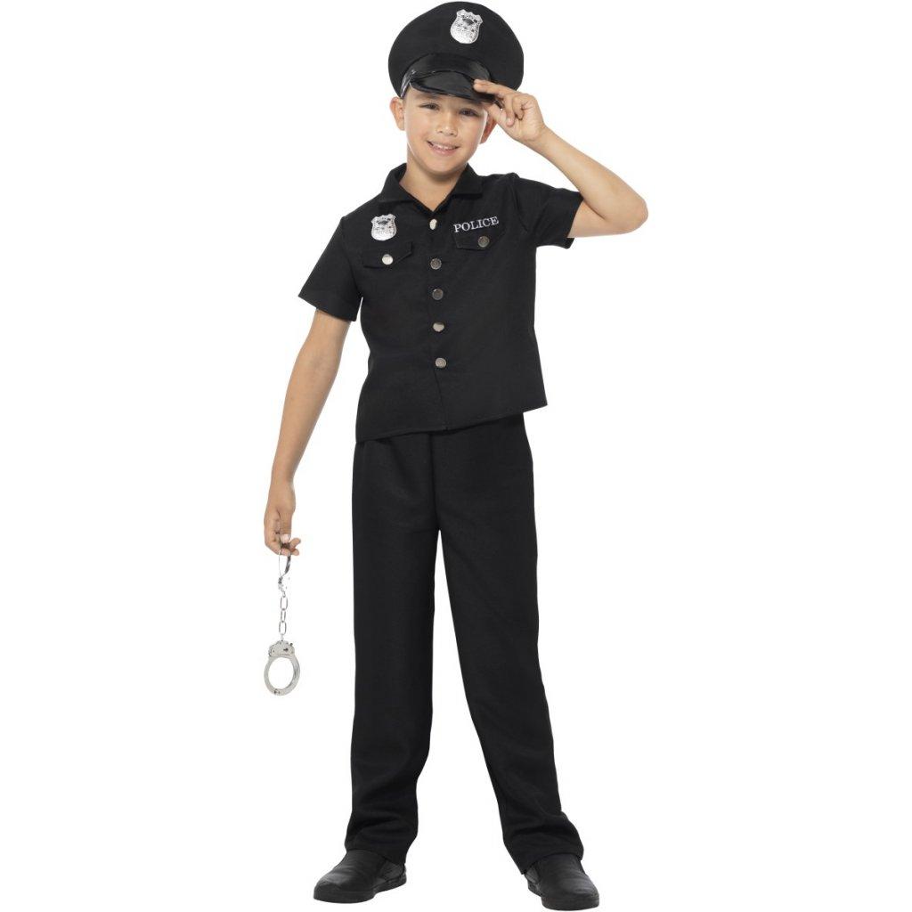 Policejní kostým pro děti 2ebab70c51
