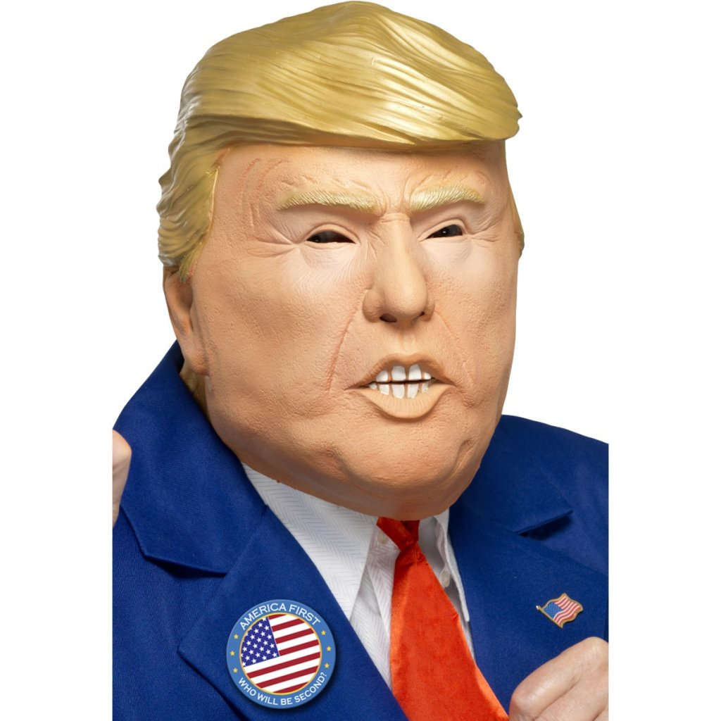 Gumová maska Donald Trump