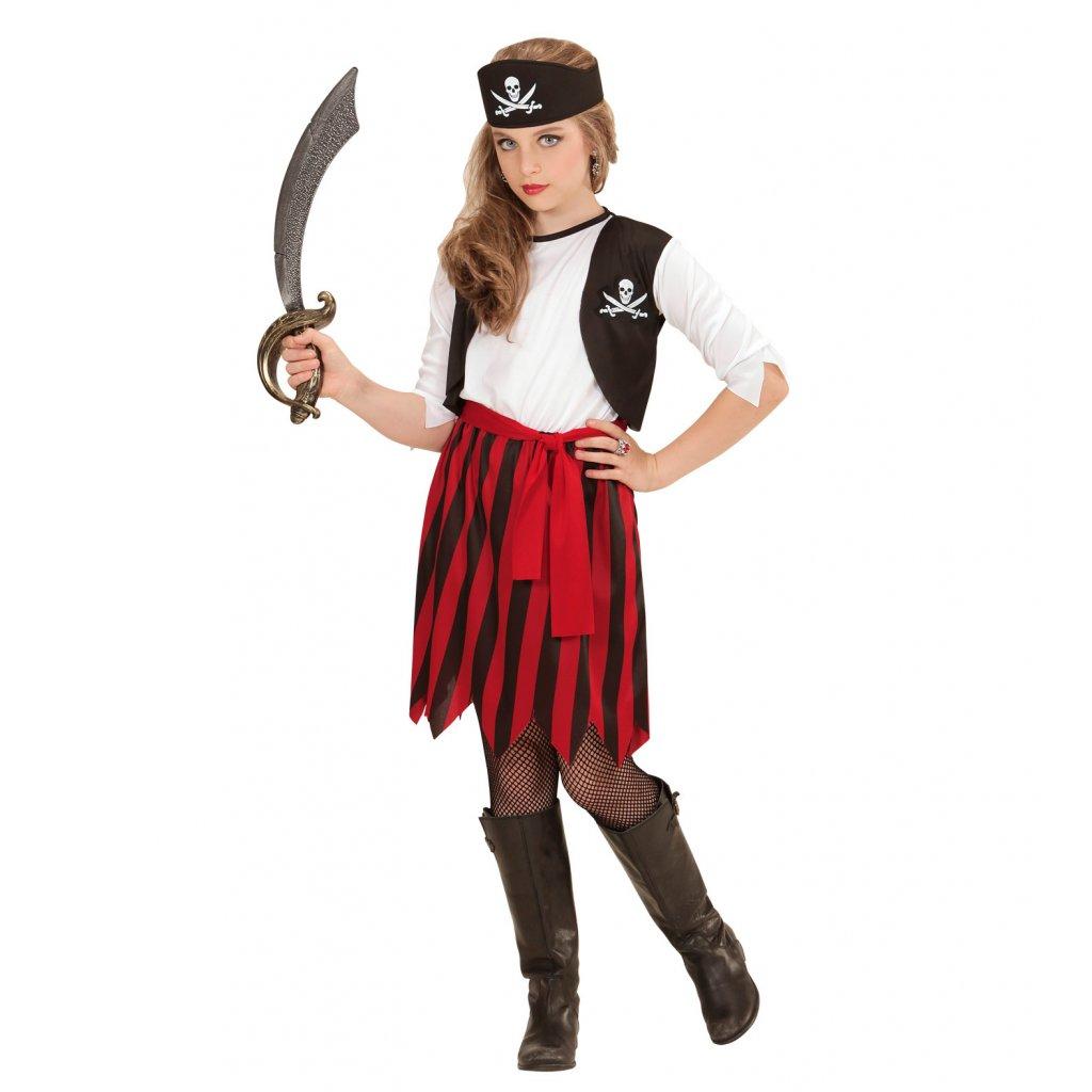 Dětský kostým pirátky levně  75786cdcdf1