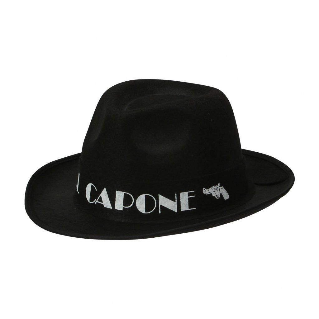 Klobouk mafián Al Capone