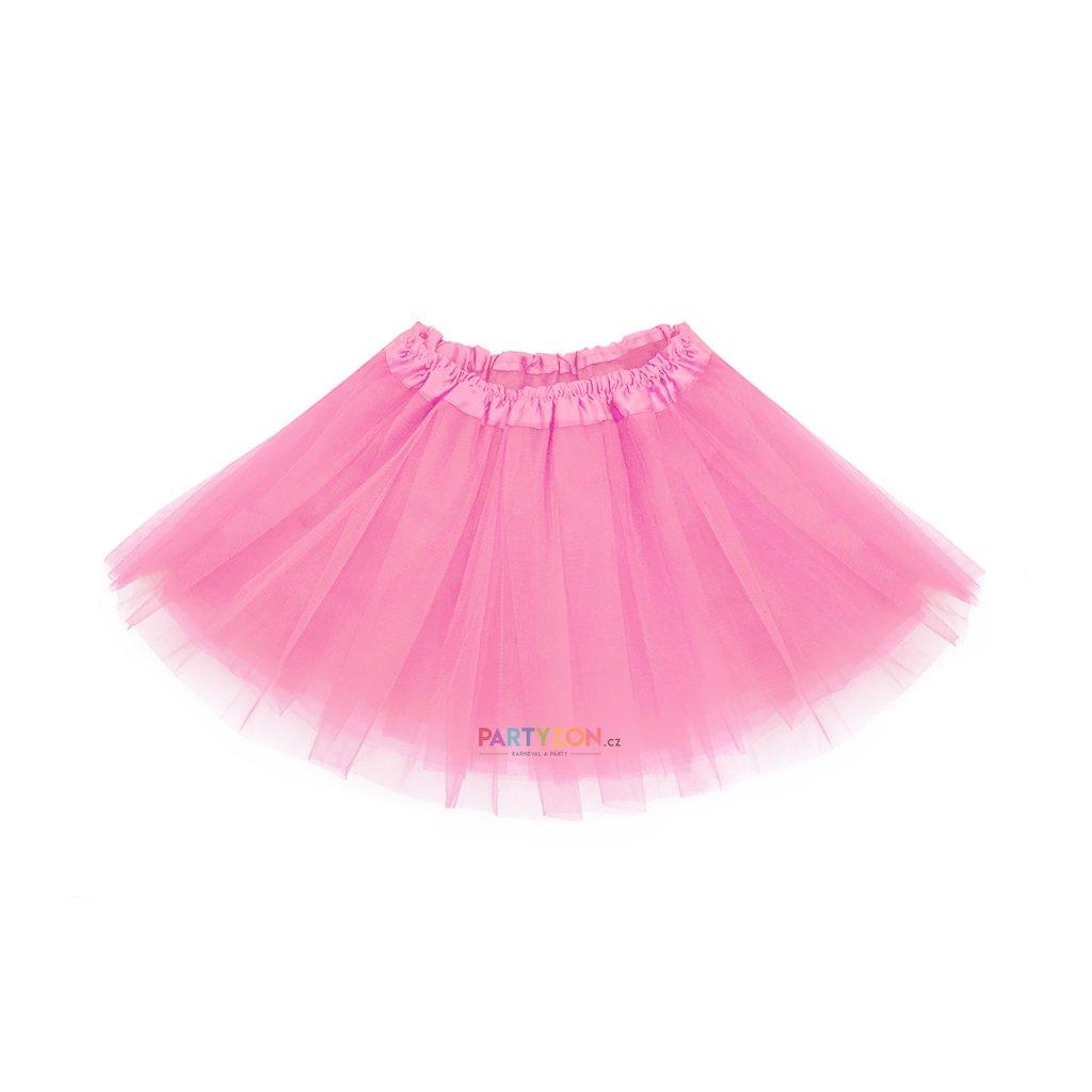 Baletní tutu sukně růžová  d4894c36be