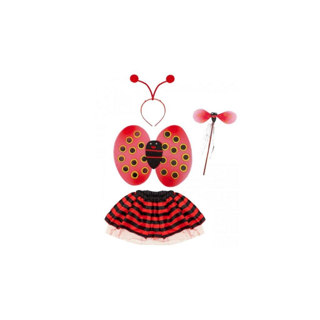Dětský karnevalový kostým berušky  c47338cc6df