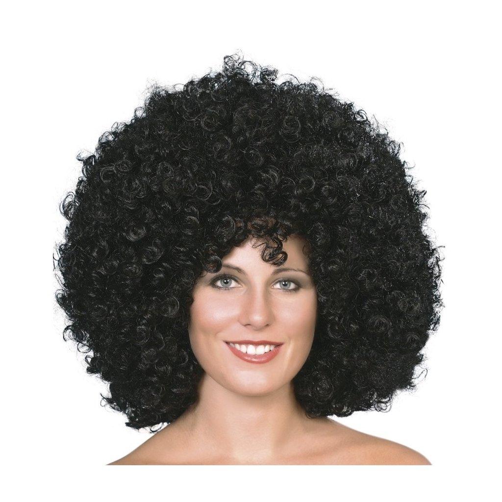 Objemná afro paruka černá pro ženy