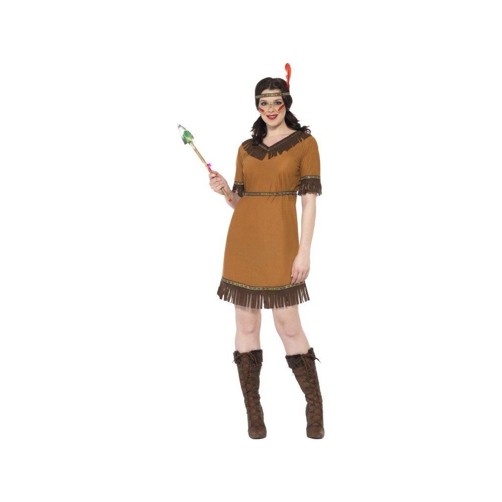 Dámský kostým indiánky