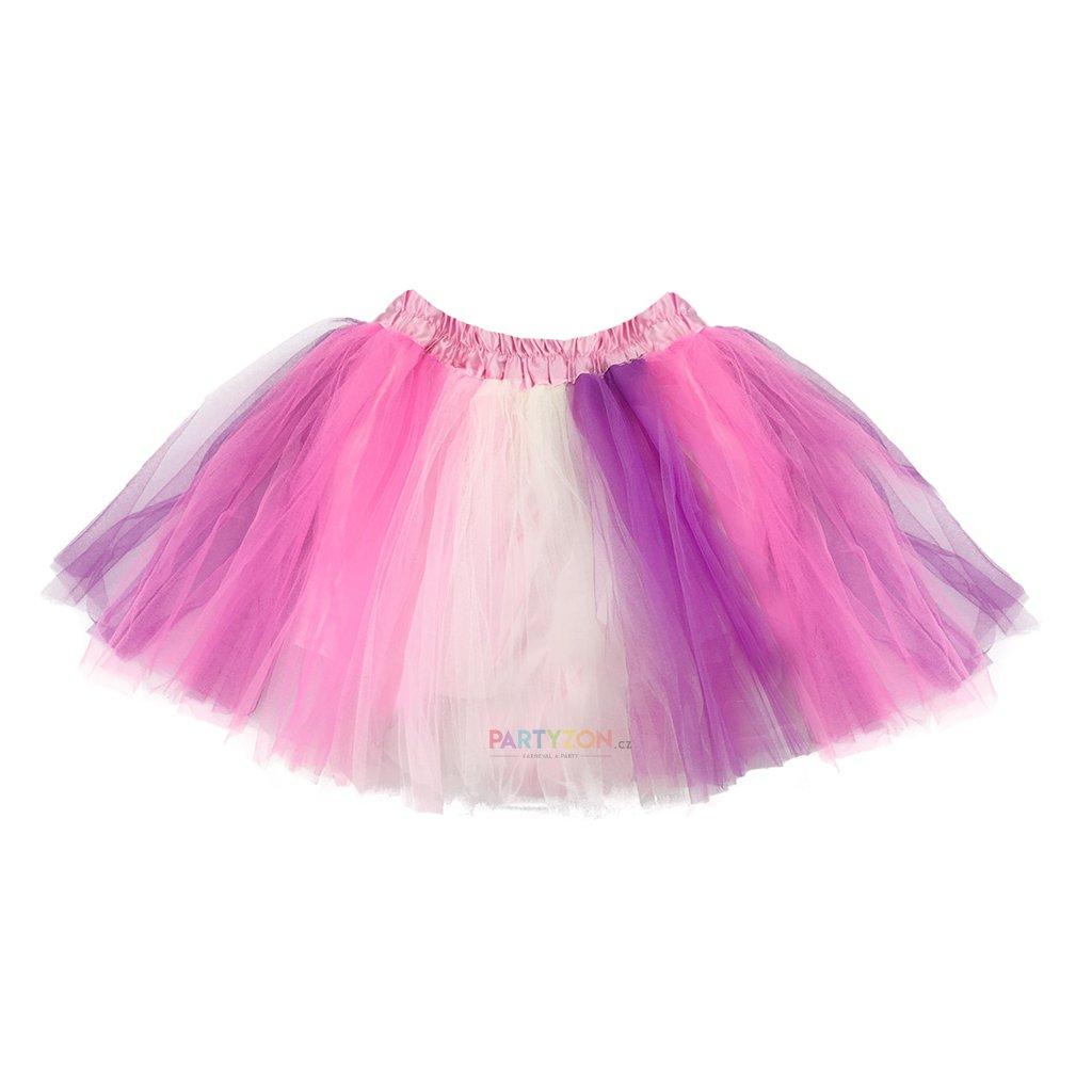 7cc82e86a2b Tutu sukně Jednorožec růžová 40cm