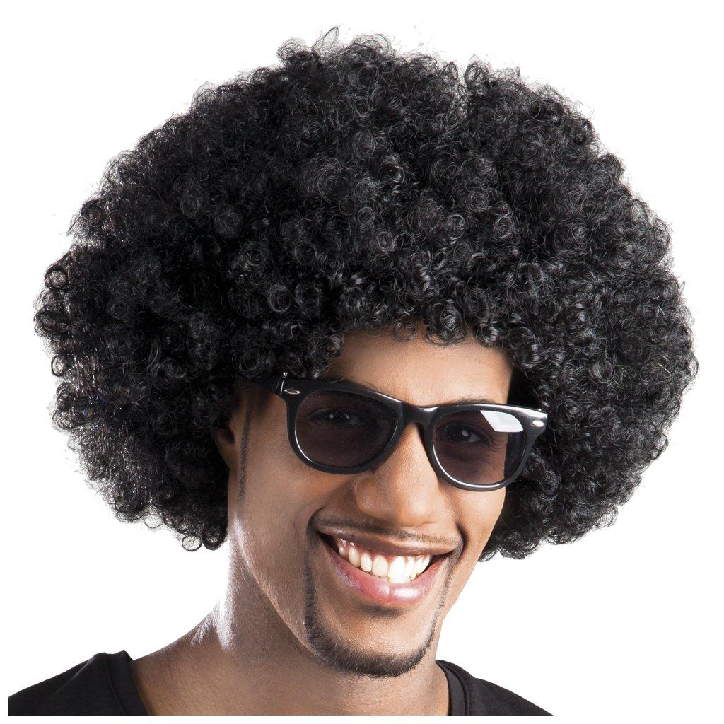 Paruka MAXI afro černá