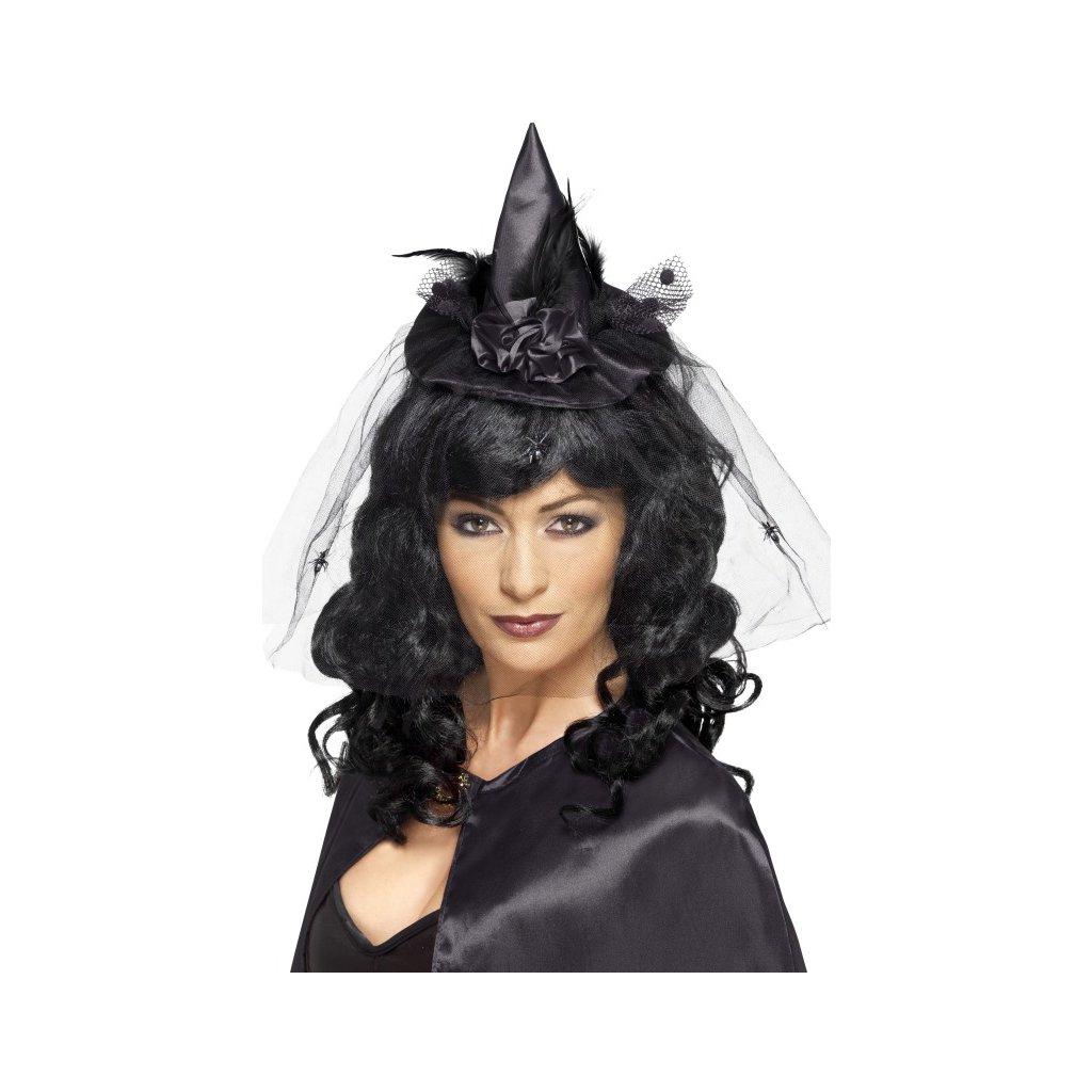 Malý čarodějnický klobouk na čelence