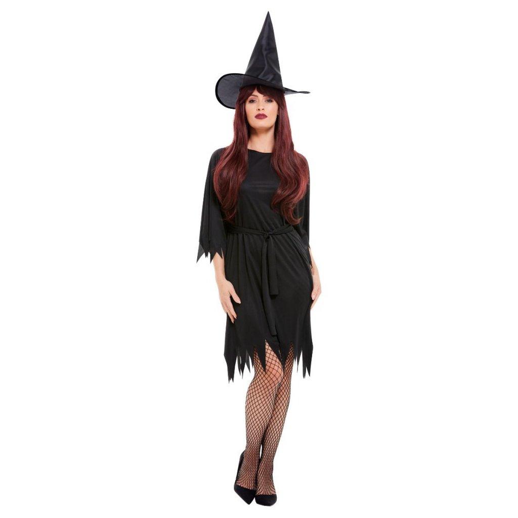 čarodějnice kostým