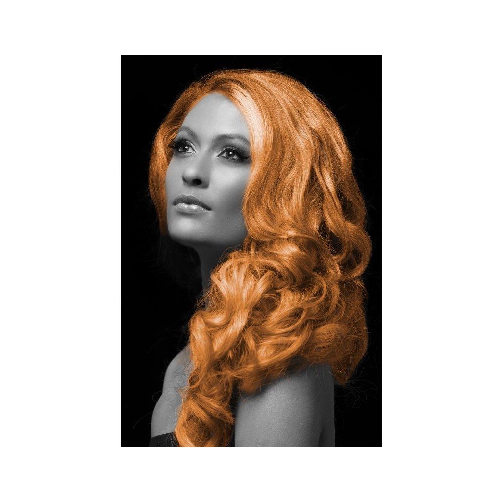 Barevný sprej na vlasy oranžový PARTYZON.cz