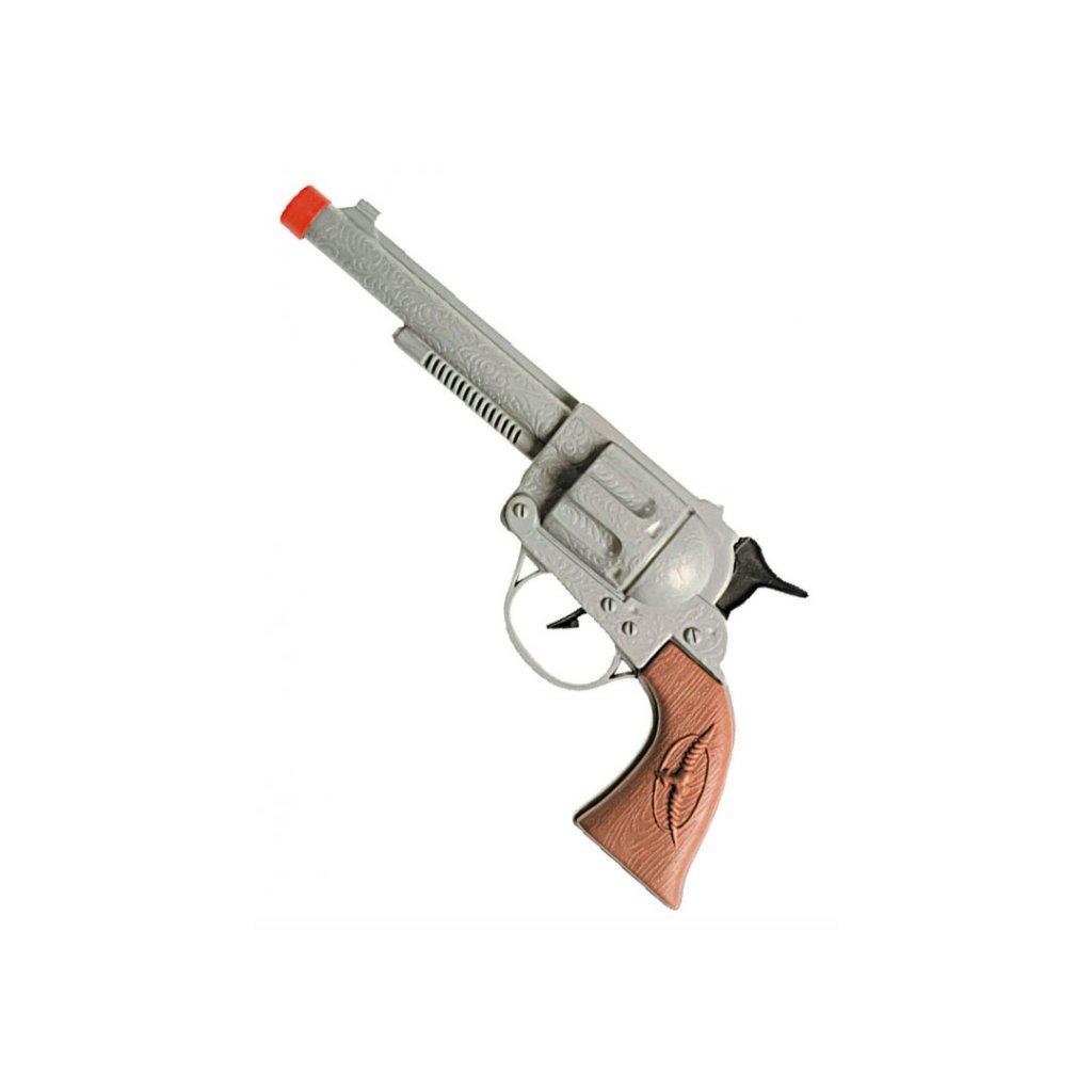 kovbojský revolver pistole na karneval