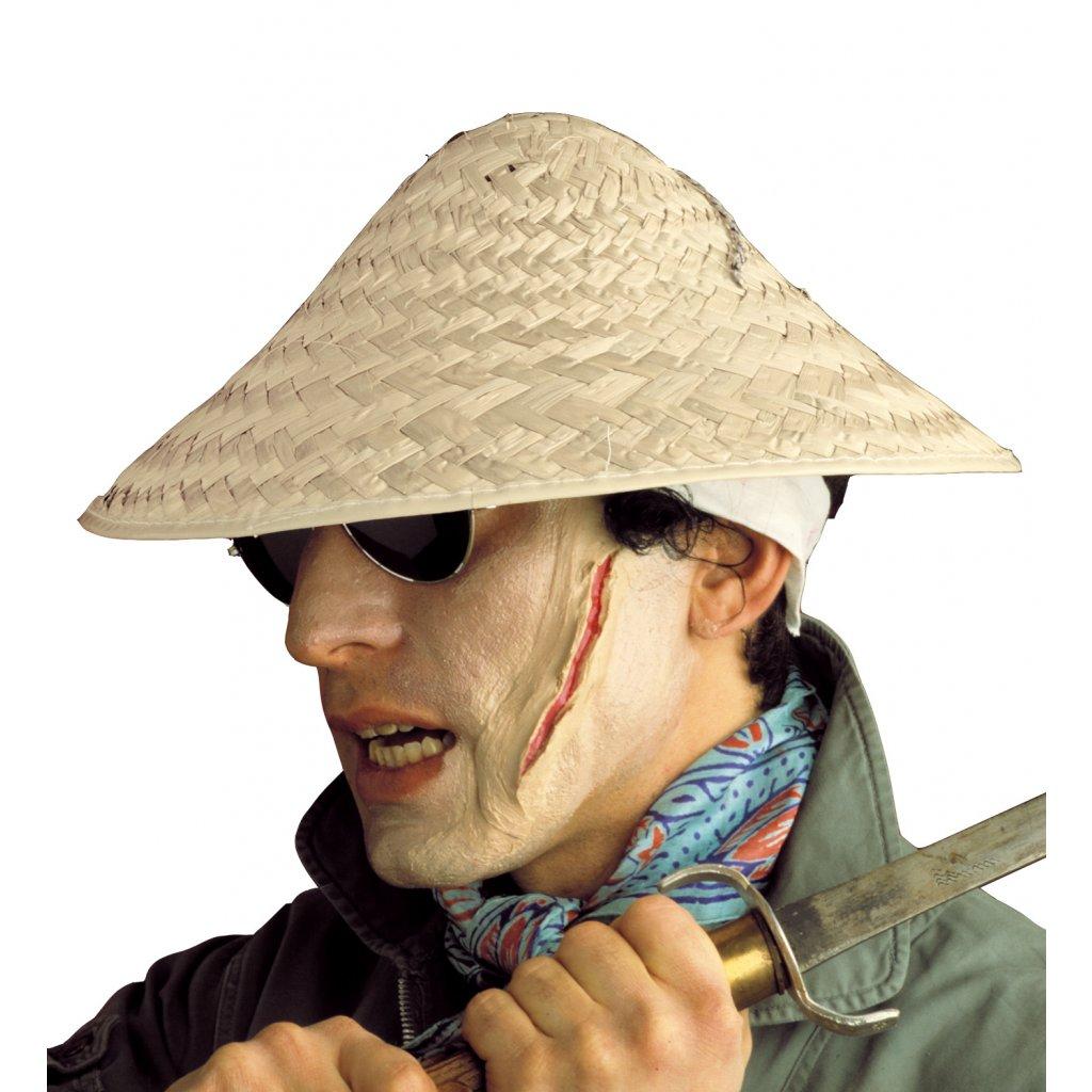 7278f13f764 Slaměný vietnamský klobouk PARTYZON.cz