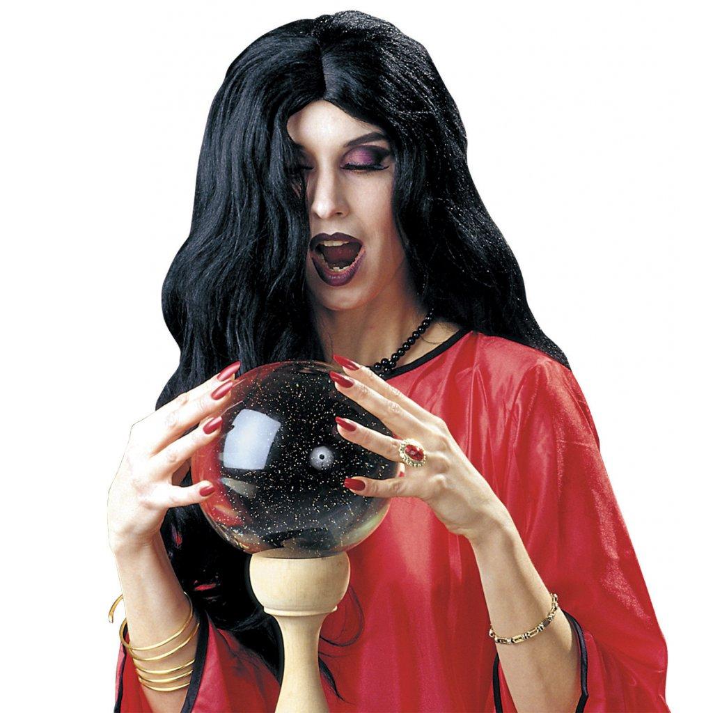 ee204993c14 Paruka čarodějnice černá Amélie PARTYZON.CZ