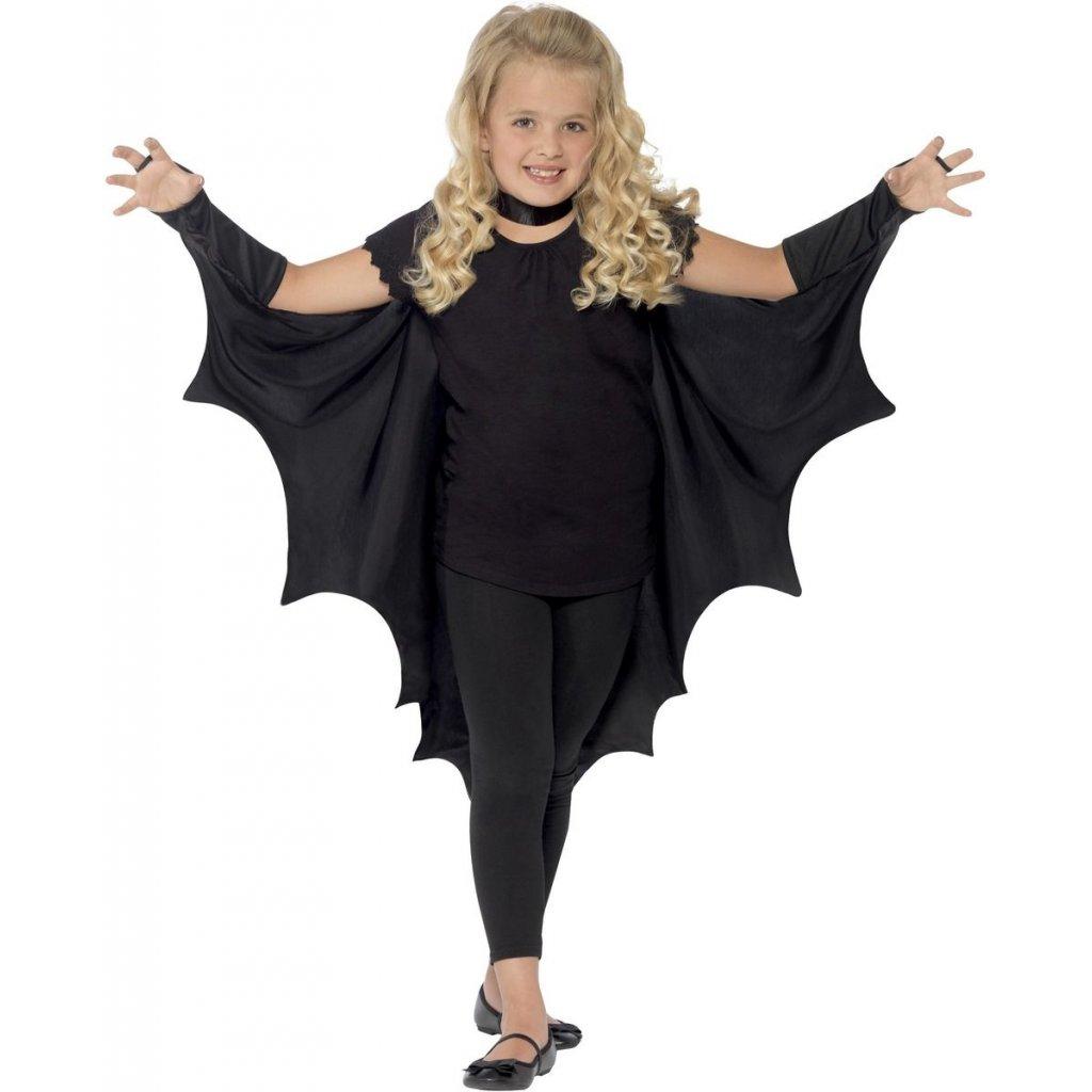 Dětský kostým netopýr křídla karneval