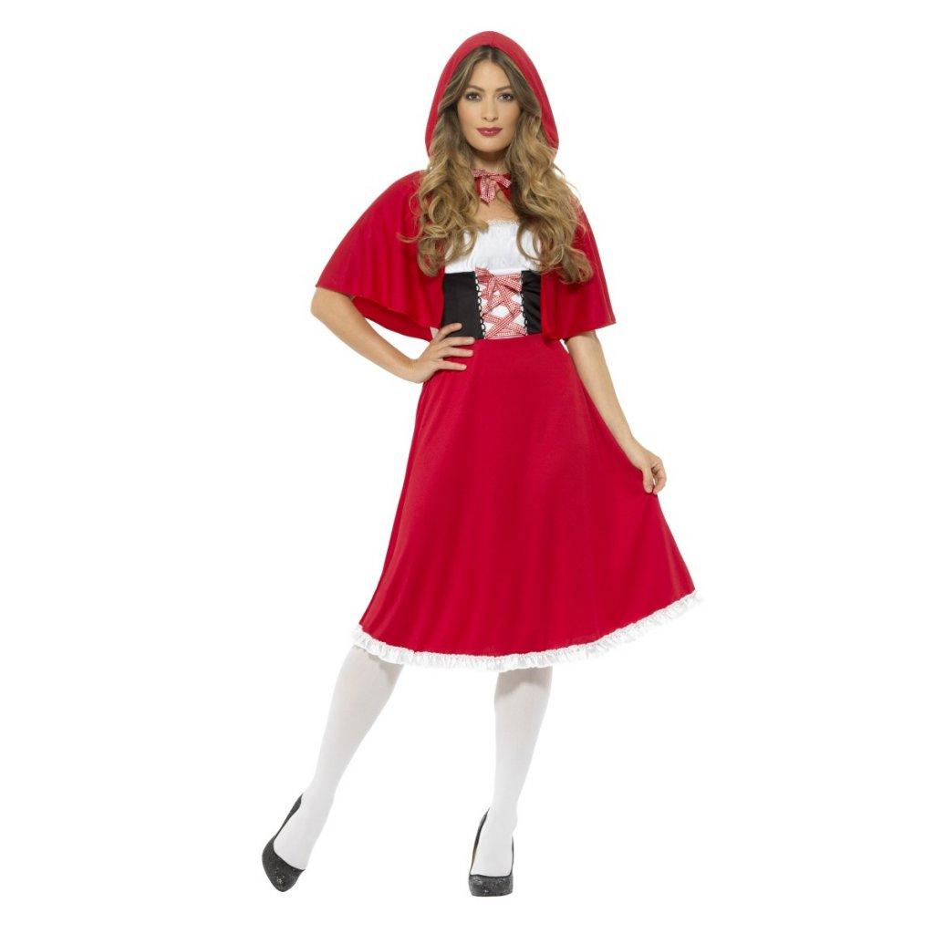 šaty Červená Karkulka