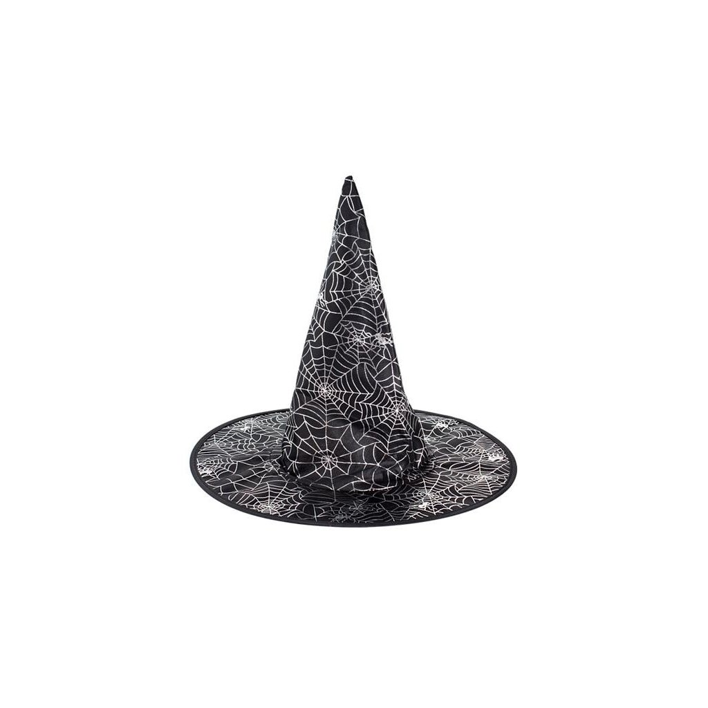 8dbcbaf55c3 Čarodějnický klobouk s pavučinou pro děti